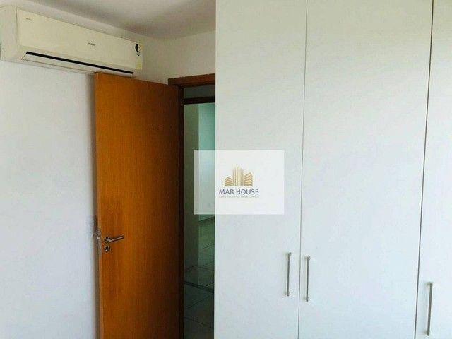 Apartamento com 3 dormitórios para alugar, 81 m² por R$ 3.500/mês - Boa Viagem - Recife/PE - Foto 9