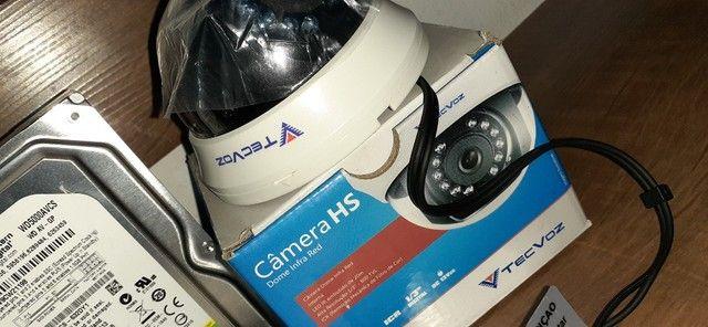 02 Cameras de Segurança Novas + HD - Foto 2