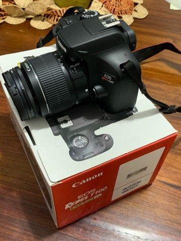Camera Canon EOS Rebel T100 EF-S 18-55 III Kit (Nova) - Foto 4