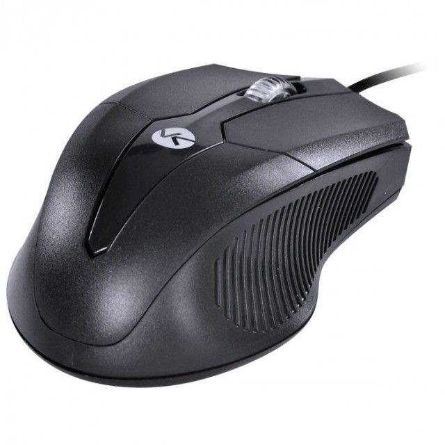 mouse optico ps2 corp 1200 dpi preto cabo 1.8m - cm200 - Foto 4