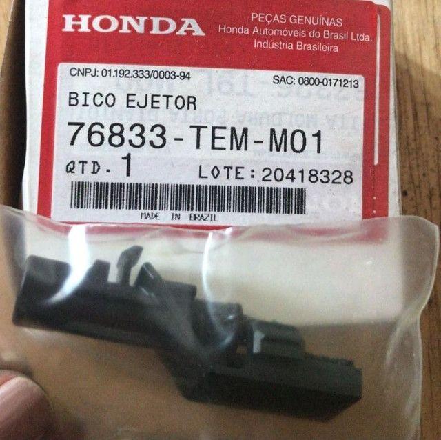 Bico ejetar (esguicho limpador de parabrisa) Honda  - Foto 2