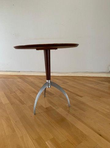 Mesa de canto redonda