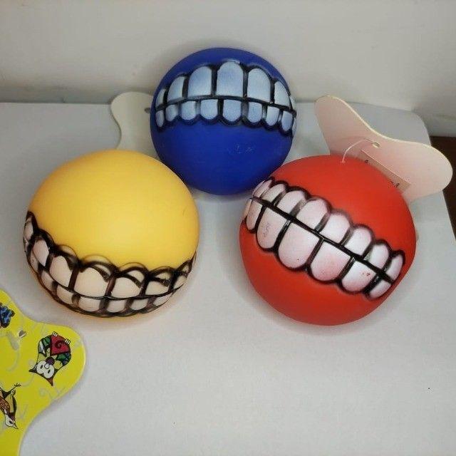 Bolinha Com Dentes Para Cachorro - Sorriso Pet