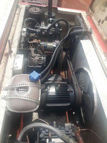 Baú frigorífico 7.50m motor a diesel - Foto 5