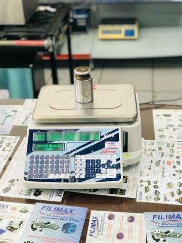 Balança com Impressor Acoplado e Wi-Fi