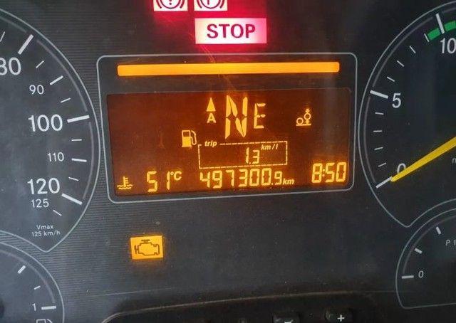 Mercedes-benz Axor 2536 6x2 Ano 2016 Teto Alto - Foto 2
