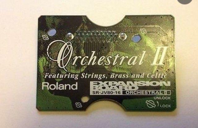 Placa De Expansão Roland Sr-jv80-16 Orchestral II - Foto 4