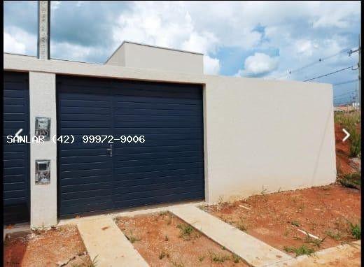 Casa para Venda em Ponta Grossa, Campo Belo, 2 dormitórios, 1 banheiro, 2 vagas - Foto 14