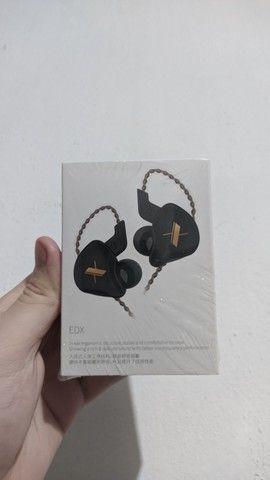 FONE DE OUVIDO IN-EAR KZ EDX (NOVO E LACRADO) - Foto 2