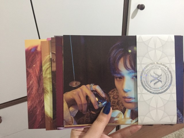 album kpop monsta x beautiful versão brilliant com brindes - Foto 5