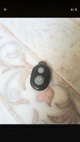Kit pau de selfie bastão monopod+ controle suporte para celular