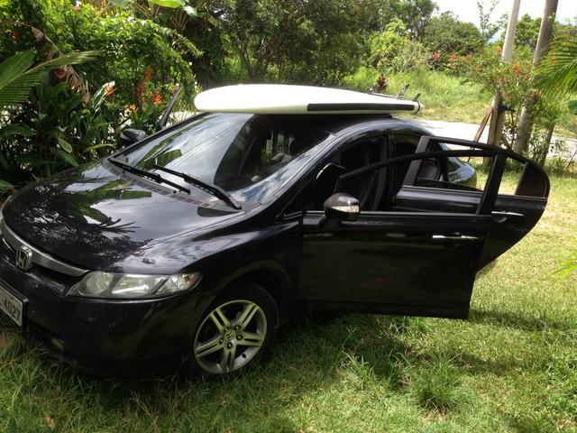NEW CIVIC 06/07 EXS AUTOMATICO PRETO