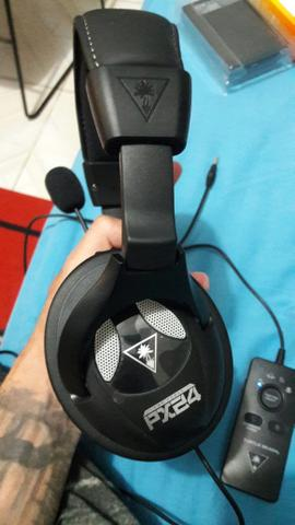 how to use turtle beach px24 on pc