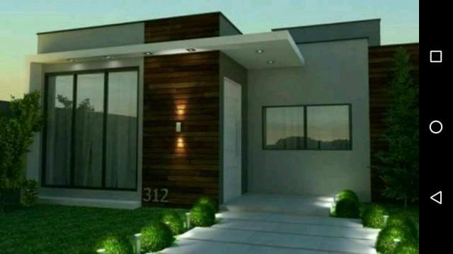 Casa nova de 2 quartos (sendo 1 suíte)