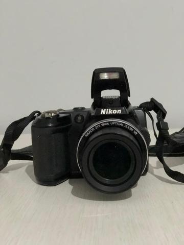 Camêra Nikon Coolpix L120