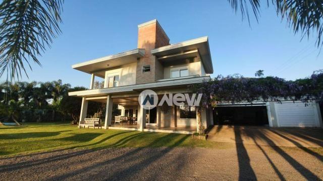 Casa com 4 dormitórios à venda, 506 m² por r$ 2.300.000,00 - lomba grande - novo hamburgo/ - Foto 4