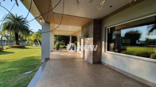Casa com 4 dormitórios à venda, 506 m² por r$ 2.300.000,00 - lomba grande - novo hamburgo/ - Foto 9