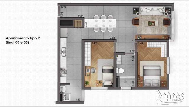 Apartamento à venda com 2 dormitórios em Canudos, Novo hamburgo cod:14517 - Foto 3