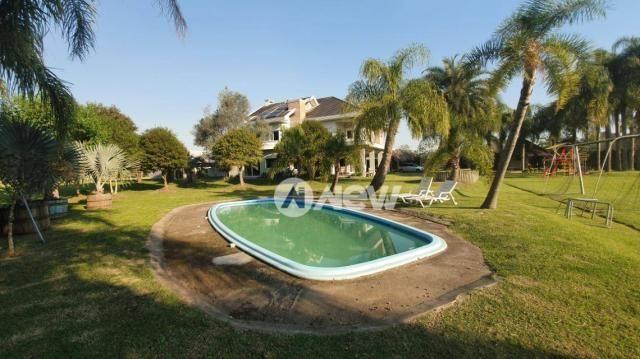 Casa com 4 dormitórios à venda, 506 m² por r$ 2.300.000,00 - lomba grande - novo hamburgo/ - Foto 5