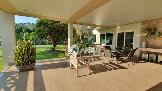 Casa com 4 dormitórios à venda, 506 m² por r$ 2.300.000,00 - lomba grande - novo hamburgo/ - Foto 10