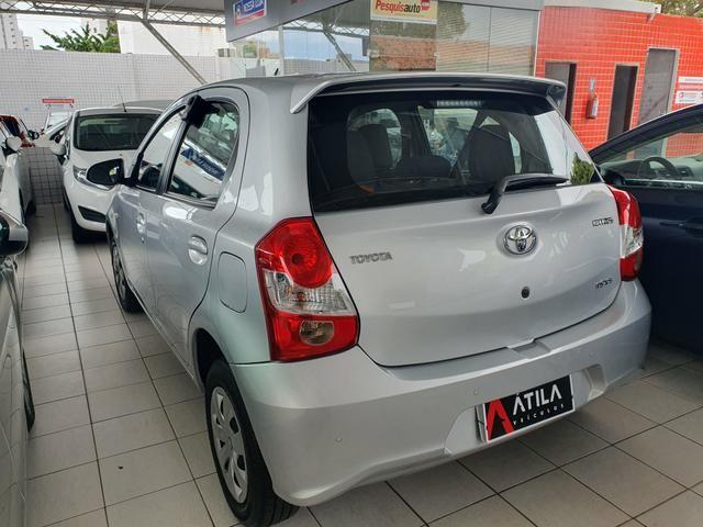 Toyota Etios 1.5 2018 unico dono!!! - Foto 4