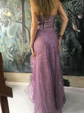 Vestido festa lilás - Foto 3