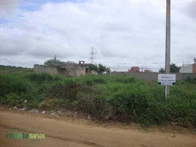 Terreno à venda, 220 m² por R$ 45.000 - Manoel Camelo - Garanhuns/PE