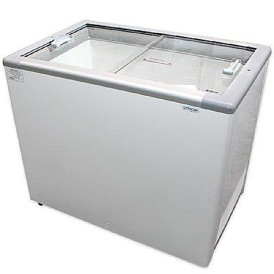 Freezer horizontal tampa cega ou tampa de vidro
