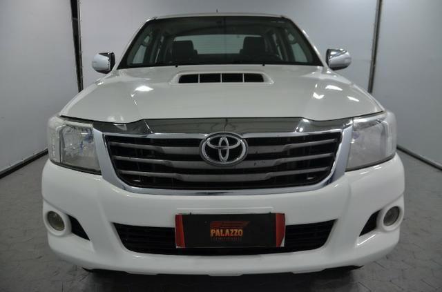 Toyota Hilux Cab. Dupla SRV 4X4 Diesel Automatica.2014.(Negociamos) Temos Strada, S10, - Foto 2