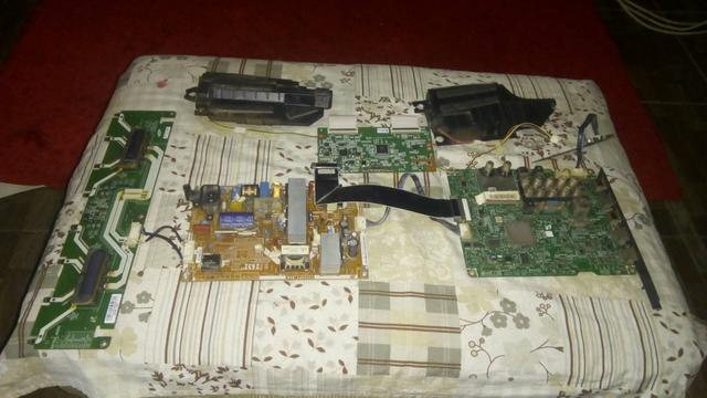 Kit das placas da TV Samsung UN40H5103AGXZD - Foto 3