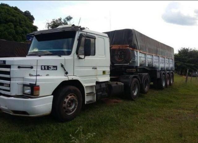 Caçamba no Scania 113 360 1995 - Foto 2