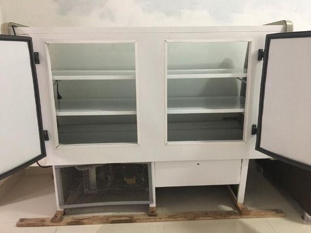 Balcão refrigerado seminovo, freezer,geladeira - Foto 4