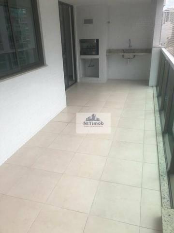 Excelente Apartamento na Mariz e Barros 272 em Icaraí no Condomínio Calle Veronna, com arm
