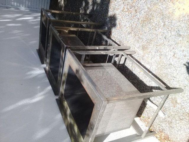 Pias de Aço inox 430 polido chapa 18 - Foto 2