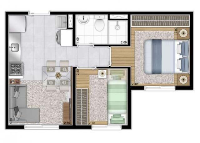 Plano&Curuça - Apartamento de 2 quartos em São Paulo, SP - Foto 10