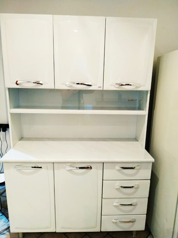 Vendo armário de cozinha Itatiaia Branco (Conservado) - Foto 3
