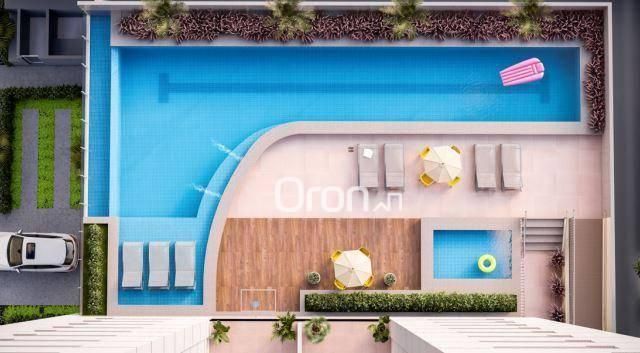 Apartamento com 3 dormitórios à venda, 87 m² por R$ 405.000,00 - Setor Pedro Ludovico - Go - Foto 7