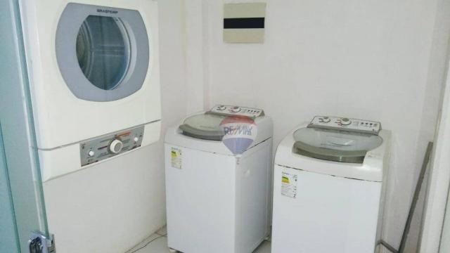 Flat com 1 dormitório para alugar, 38 m² - Poço - Recife/PE - Foto 13