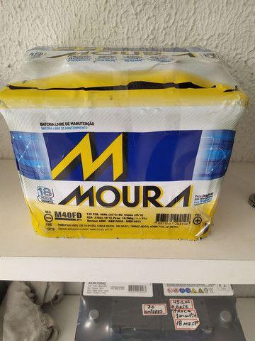 Bateria Moura, 40 AH, a base de troca. Nova, Instajada