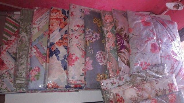 Colcha de cama jogo lencol
