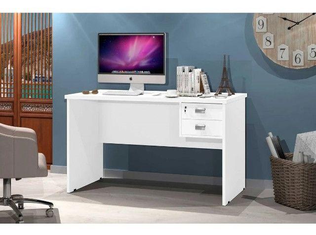 Escrivaninha/ Mesa de Computador Taurus / 2 Gavetas - Foto 2