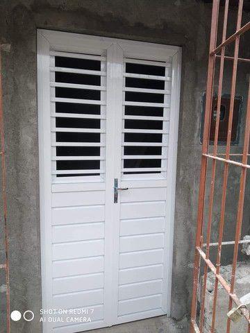 Portões e porta de alumínio. - Foto 2