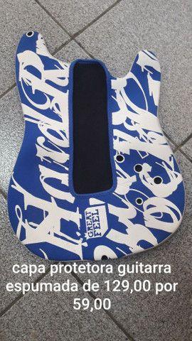 Capa Protetora corpo guitarra espumada