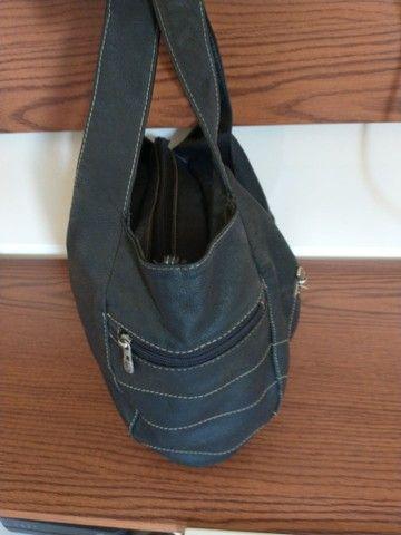 Bolsa couro legítimo Thomaz Rabello - Foto 3