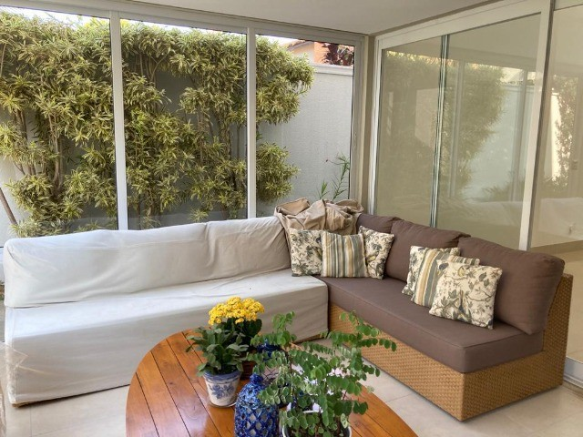 """Vendo sofá em junco de 3mx2,10 (dois módulos de 2,10 que se somam em """"L""""). - Foto 2"""