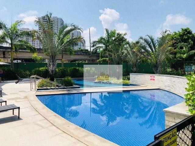 Apartamento com 3 dormitórios para alugar, 81 m² por R$ 3.500/mês - Boa Viagem - Recife/PE - Foto 4