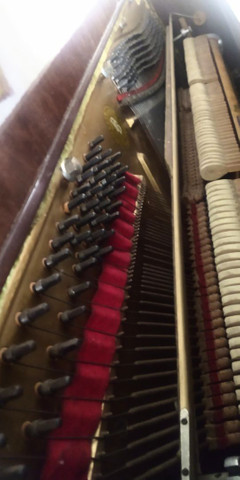 PIANO ACUSTICO BRASIL 88 TECLAS MARAVILHOSO - Foto 6