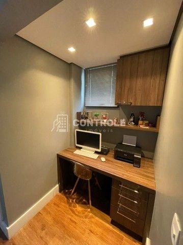 (R.O)Apartamento com 03 dormitórios, 02 vagas no Balneário do Estreito em Florianópolis. - Foto 7