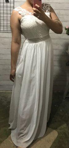 Vestido branco M - Foto 2