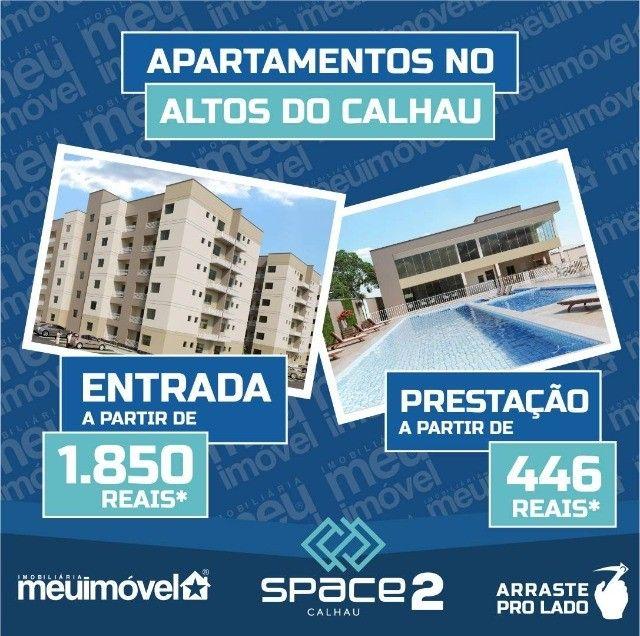 [104] Space Calhau 2, apartamentos com 2 a 3 quartos, 49 a 72 m² - Altos do Calhau